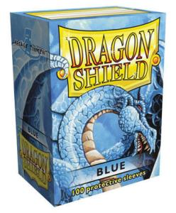 100 Protective Sleeves Dragon Shield Blue pas cher