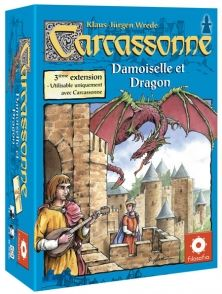 Carcassonne - 3 : Princesse & Dragon - Nouvelle Edition