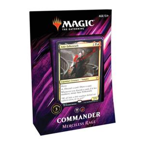Commander 2019 - Deck Rouge/Noir Rage Impitoyable