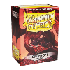 100 Protective Sleeves Dragon Shield Classic Crimson