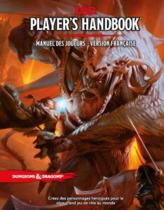 Dungeon & Dragons 5ème Edition - Manuel des Joueurs pas cher