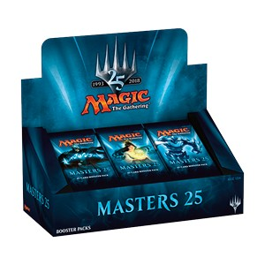 Masters 25 - 24 Booster Packs Display pas cher