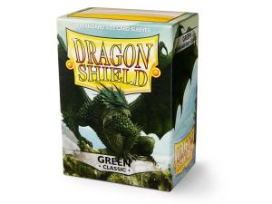 100 Protective Sleeves Dragon Shield Green