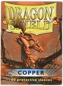 100 Protective Sleeves Dragon Shield Copper pas cher