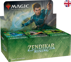 Boite de Zendikar Rising - 36 Boosters Packs Display