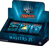 Masters 25 - 24 Booster Packs Display