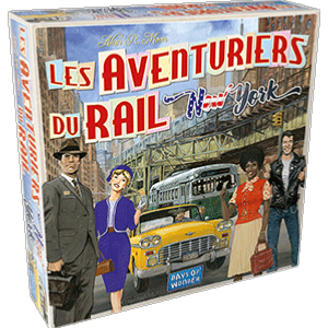 Les Aventuriers du Rail  - New-York